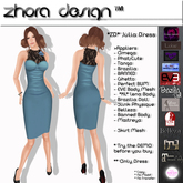 PROMO  *ZD* Dress Julia Blue