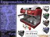 Espresso Machine C-Profi S6CPV5.x (Boxed) Espresso Maschine, Kaffe Spender, Kaffe maschine, Espresso spender