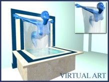 Virtual Art (waterfall Woman)