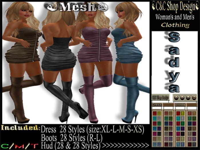 C&C Mesh Sadya (Hud 28 & 28 Styles)