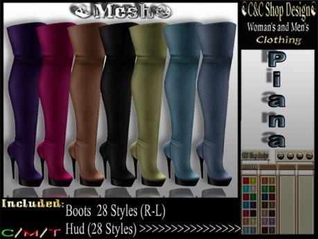 C&C Mesh Piana (Hud 28 Styles)