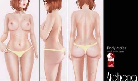 Aidhona - Body Moles for Slink Physique