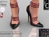 .:KC:. PLEASURE Heels - Slink High, Belleza, TMP & Maitreya / FATPACK