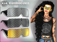 [Since 1975] - GlamBlind Glass (Gold) ***Group gift inworld ***