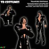 *TD* Vampire Halloween Costume