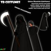 *TD* Grim Reaper Halloween Costume