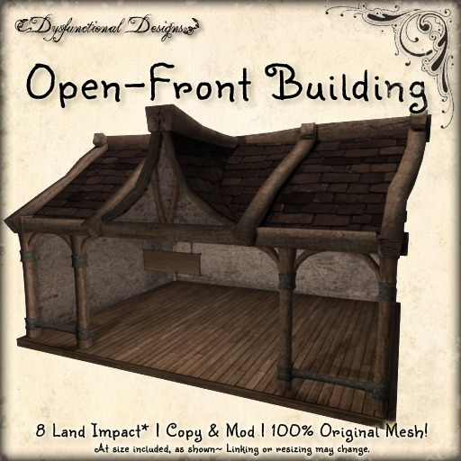 [DDD] Open-Front Rustic Building