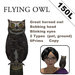 Flying Owl ( include wearable pet, random fly, animate )