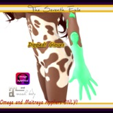 The Seventh Exile - Dipped! Gloves: Spearmint - Omega & Maitreya Appliers ONLY!