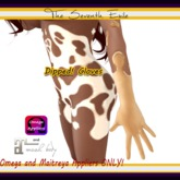 The Seventh Exile - Dipped! Gloves: Peanut Butter - Omega & Maitreya Appliers ONLY!