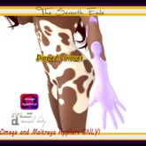 The Seventh Exile - Dipped! Gloves: Cotton Candy Grape - Omega & Maitreya Appliers ONLY!