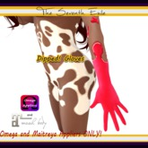 The Seventh Exile - Dipped! Gloves: Raspberry - Omega & Maitreya Appliers ONLY!