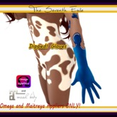 The Seventh Exile - Dipped! Gloves: Blueberry - Omega & Maitreya Appliers ONLY!