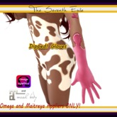 The Seventh Exile - Dipped! Gloves: Rose Sauce - Omega & Maitreya Appliers ONLY!