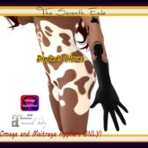 The Seventh Exile - Dipped! Gloves: Licorice - Omega & Maitreya Appliers ONLY!
