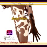 The Seventh Exile - Dipped! Gloves: Dark Chocolate - Omega & Maitreya Appliers ONLY!