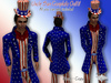 Uncle Sam Outfit - Mesh * SPECIAL PRICE Happy 4th of July Promo *