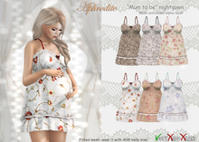 """Aphrodite """"Mum to be"""" Pregnant mother nighgowns fat pack"""