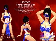 *Silken Surrender* Heroes, StarSpangled Girl