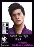 ::MF:: Enrique Hair Style Black