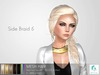 rezology Side Braid 5 (RIGGED mesh hair) NS - 1224 complexity