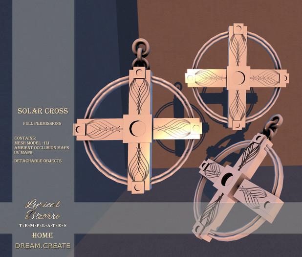 !Lyrical B!zarre Templates HOME! - Solar Cross MESH FP