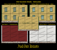 Mad Hen - Swedish Old Walls - Bohuslän