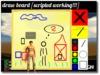 draw board ( Paint Editor / School board / black board)