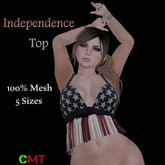 .HIPNOTIC. Independence Top (Boxed)