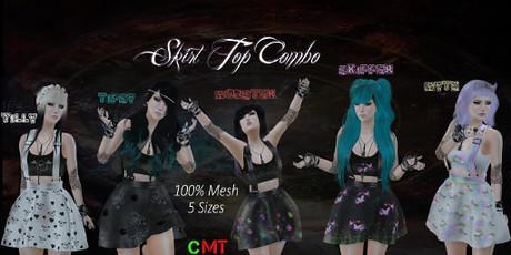 .HIPNOTIC.  Skirt Top Combo (DEMO) Vendor