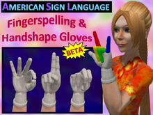 ASL Fingerspelling Gloves