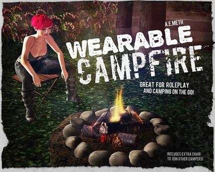 [ a.e.meth ] - Wearable Campfire