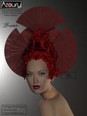 AZOURY - Harmonie Headwear (Red)