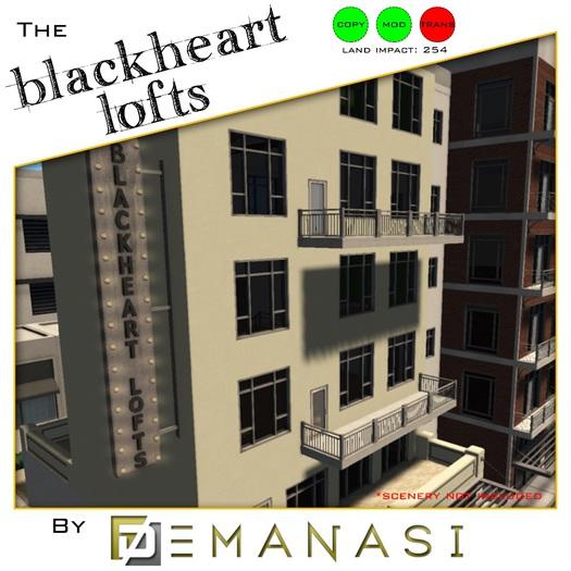The Blackheart Lofts by Demanasi - 100% Mesh
