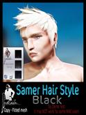 ::MF:: Samer Hair Style Black