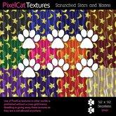 PixelCat Textures - Scrunched Stars and Moons