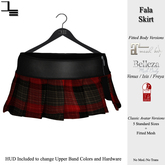 DE Designs - Fala Skirt - Red Plaid