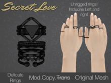 {Secret Love} Delicate -Black (original mesh)