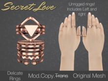 {Secret Love} Delicate -Rose Gold