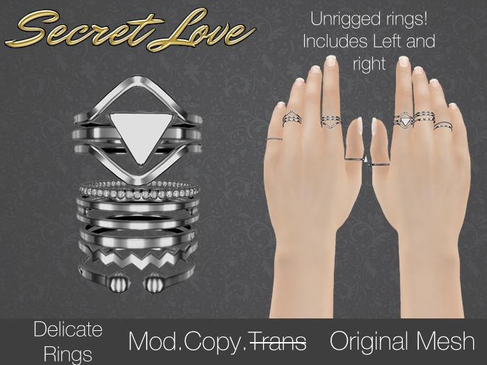 {Secret Love} Delicate - Silver