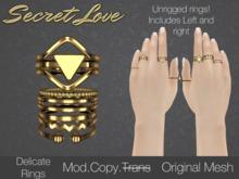 {Secret Love} Delicate -Gold