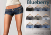 Blueberry cossy ripped denim shorts2