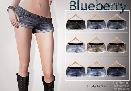 Blueberry Jinx - Maitreya / Belleza / Slink - Fat Pack
