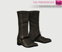 Full Perm MI Mesh Mid Calf Boots with Buckle - Rigged and Non-rigged