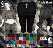 [Syn] Nicole Baggy Short FREE TRIAL