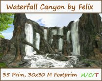 waterfall canyon by felix ( for Cave Waterfall Grotto Landscaping )