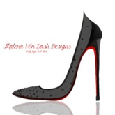 .::FemmeFatale::. Swarovski Stilletos (Patent Black)