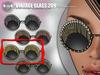 [Since 1975]-Vintage Glasses 209 (Gold)