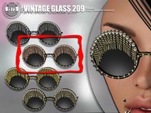 [Since 1975]-Vintage Glasses 209 (Pink)