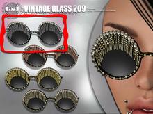 [Since 1975]-Vintage Glasses 290 (Silver)
